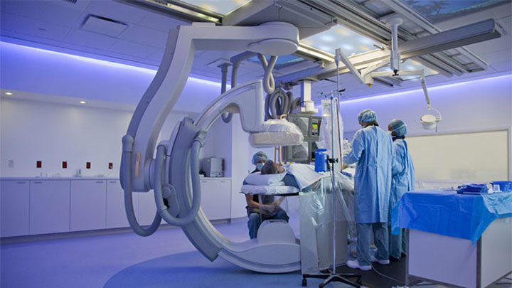 Medical examinations in Catharina Hospital - Philips Lighting
